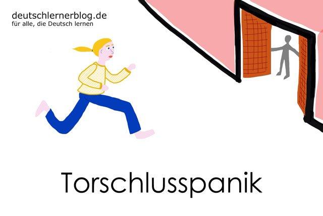 Torschlusspanik - deutsche Krankheiten und Leiden