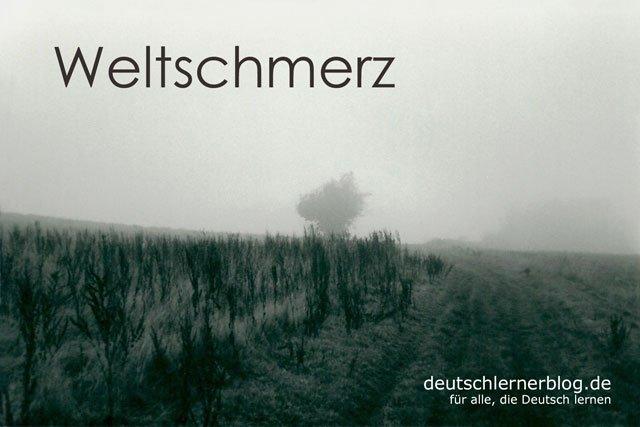Weltschmerz - deutsche Krankheiten und Leiden
