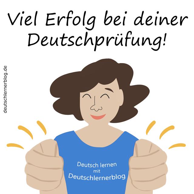Deutschprüfung - Erfolg - erfolgreich - Deutschtest