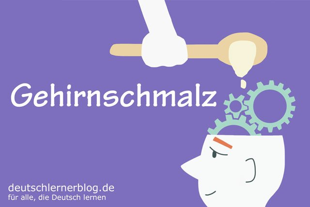 Gehirnschmalz - deutsche Küche, deutsches Essen - deutsche Rezepte - deutsche Speisen