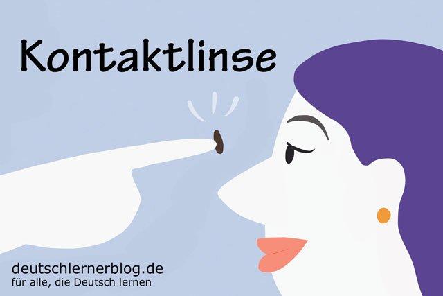 Kontaktlinse - deutsche Küche - deutsches Essen - deutsche Rezepte - deutsche Speisen