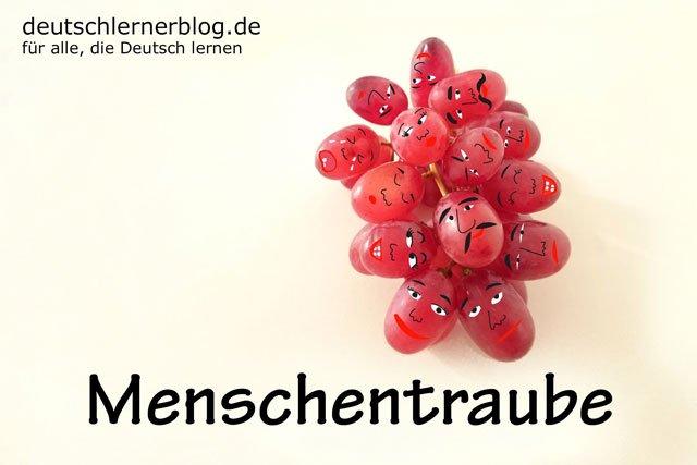 Menschentraube - deutsches Obst - deutsche Trauben - deutsches Essen - deutsche Rezepte - deutsche Speisen