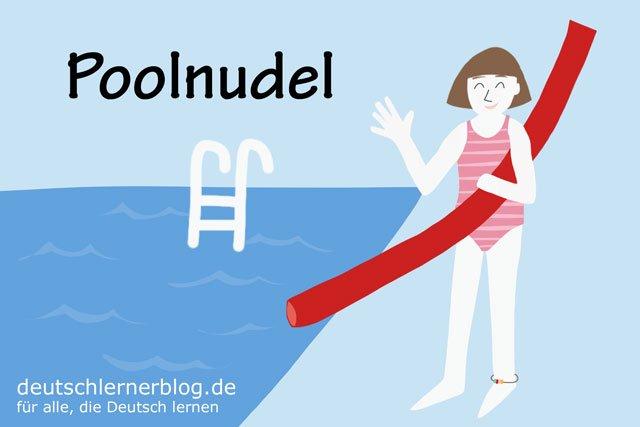 Poolnudel - deutsche Küche - Schwimmnudel - deutsches Essen - deutsche Rezepte - deutsche Speisen