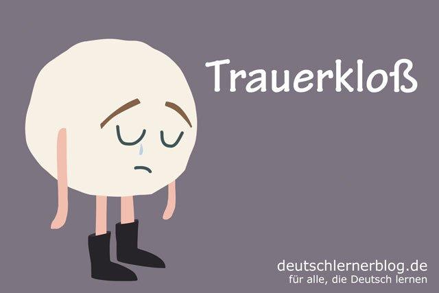 Trauerklos - deutsches Essen - deutsche Rezepte - deutsche Speisen