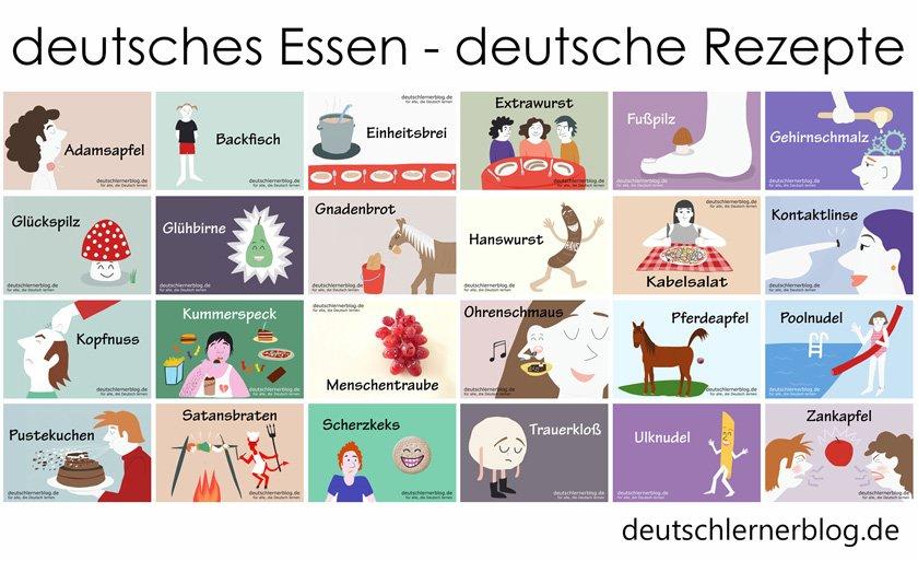 deutsche Küche - deutsches Essen - deutsche Rezepte - deutsche Speisen