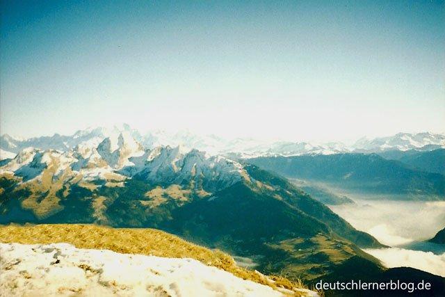 Orte, die ich mag - Berge