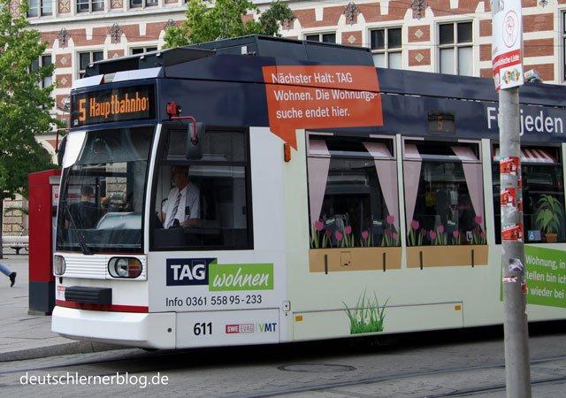 Straßenbahn - kostenloser ÖPNV