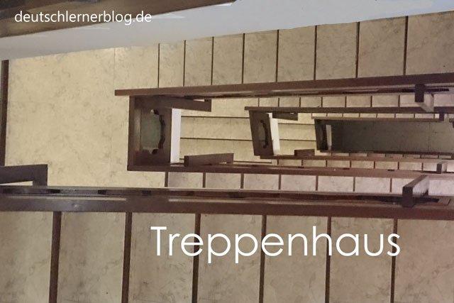 Treppenhaus - Wörter Deutsch - deutsche Wörter