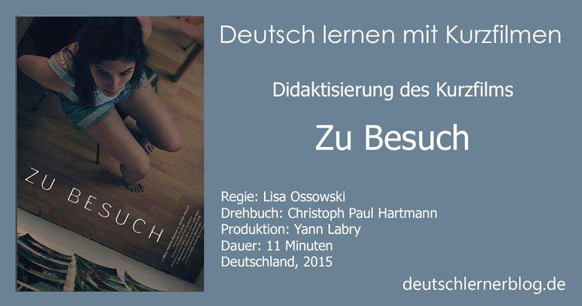 Kurzfilm für den Deutschunterricht - Didaktisierung Kurzfilm
