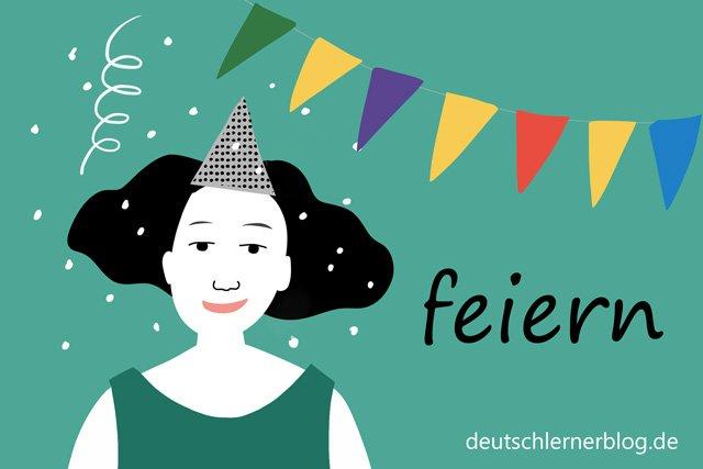 Feste und Einladungen - feiern