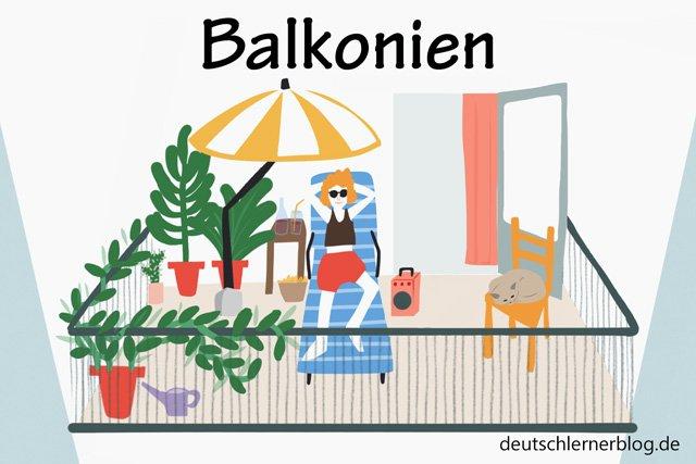 Balkonien - schöne Orte in Deutschland - beste Reiseziele