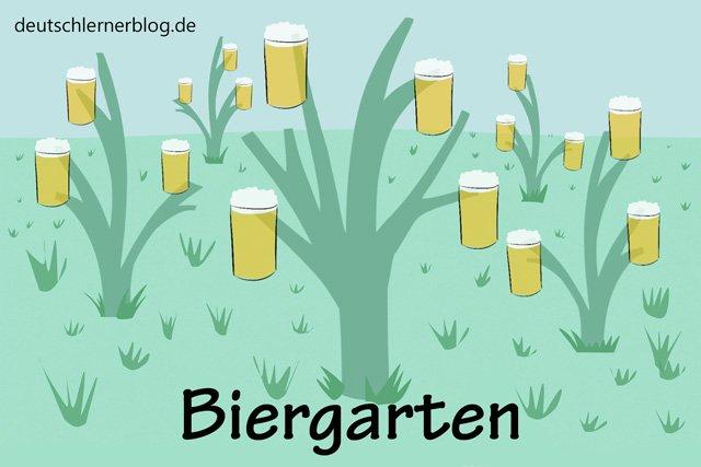 Biergarten - schöne Orte in Deutschland - beste Reiseziele