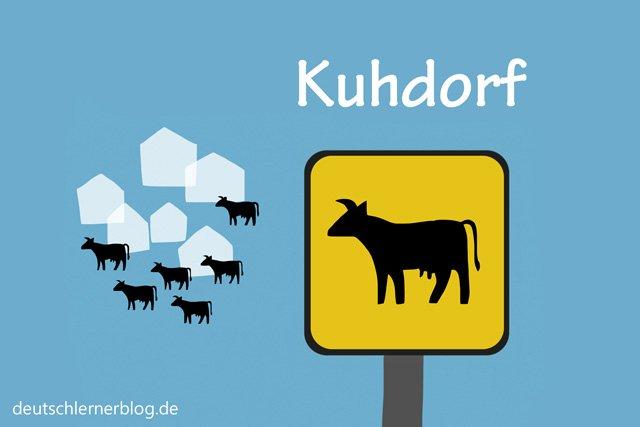 Kuhdorf - schöne Orte in Deutschland - beste Reiseziele