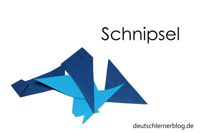 Schnipsel - Wortschatz lernen - Vokabeln lernen - Deutsch lernen - mit Bildern lernen