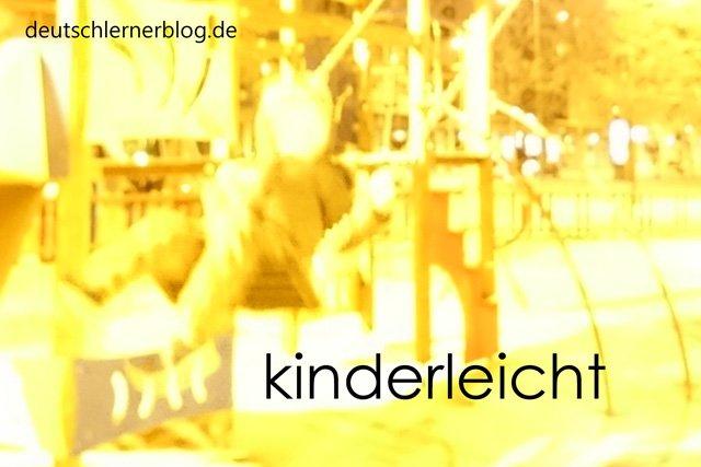 kinderleicht - Wortschatz lernen - Vokabeln lernen - Deutsch lernen - mit Bildern lernen
