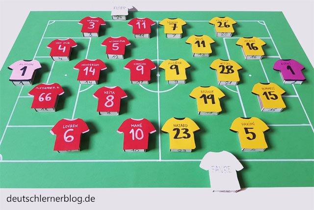 Adventskalender Borussia Dortmund - Adventskalender FC Liverpool