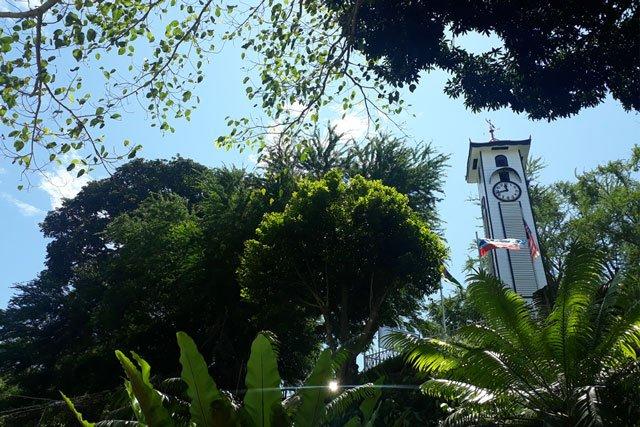 Kota Kinabalu auf der Insel Borneo