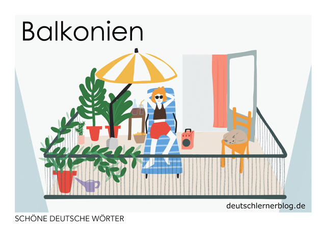Balkonien - Postkarte kostenlos - kostenlose Postkarte