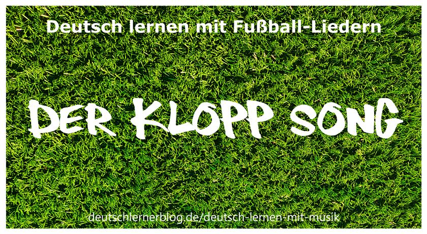 Klopp Song - Fußballlieder