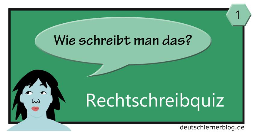 Rechtschreibquiz - Grundschule