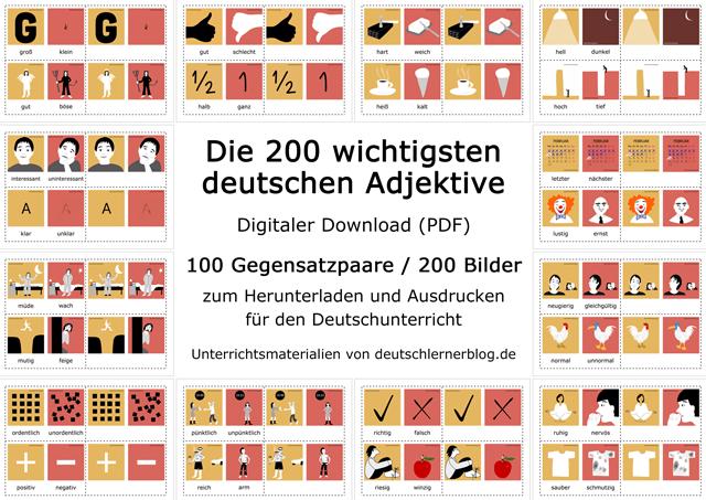 200 Adjektive