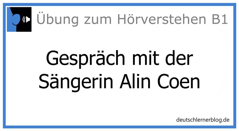 Gespräch mit Alin Coen
