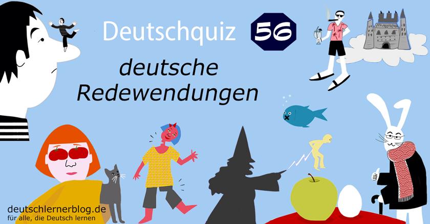 Deutsche Redewendungen Quiz
