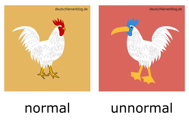 normal - unnomral