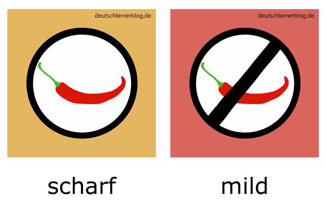 scharf - mild