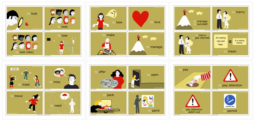 english verbs and phrasal verbs