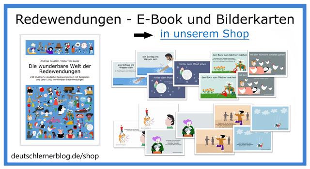 Redewendungen E-Book und Bilderkarten