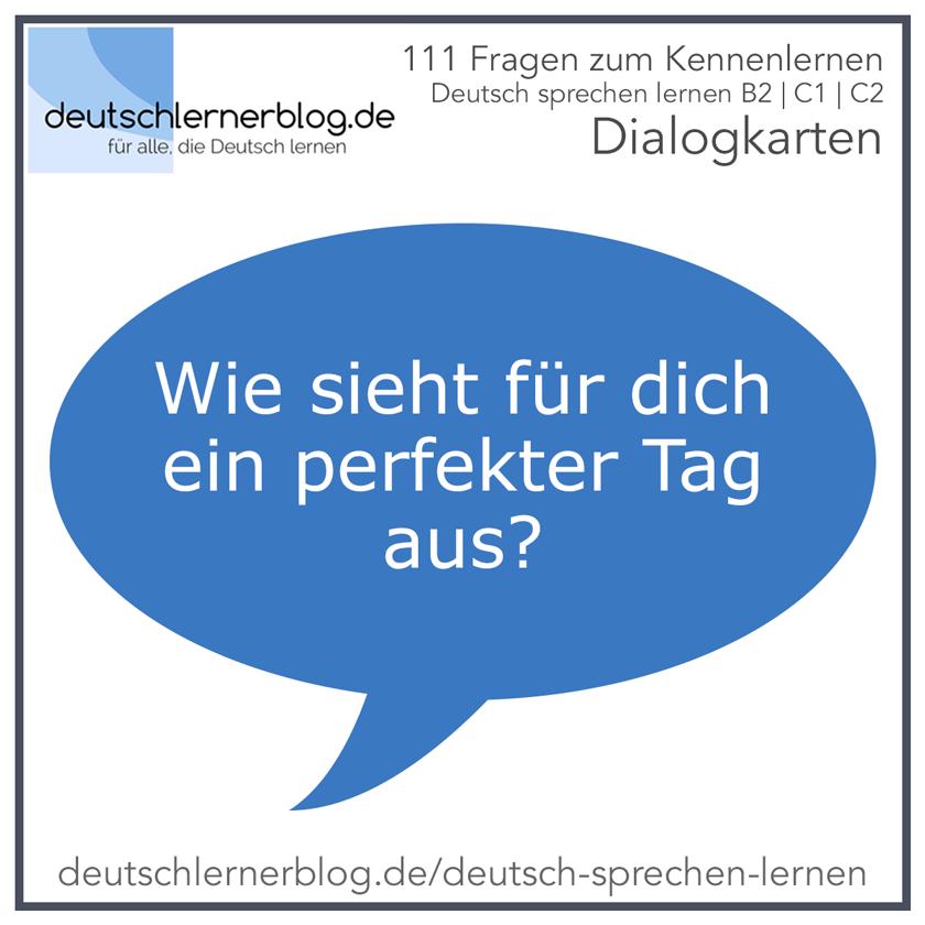 deutsch lernen kennenlernen)