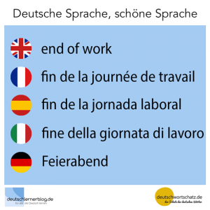 Feierabend deutschlernerblog deutschwortschatz Galerie - deutsche Sprache