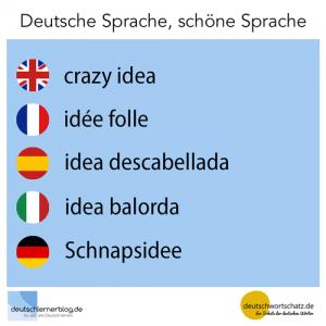 Schnapsidee deutschlernerblog deutschwortschatz