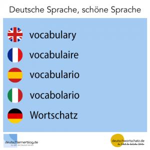 Wortschatz deutschlernerblog deutschwortschatz Galerie - deutsche Sprache