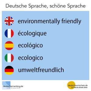 umweltfreundlich deutschlernerblog deutschwortschatz