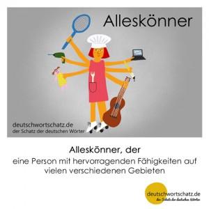 Alleskönner - Wortschatz Deutsch Bilder