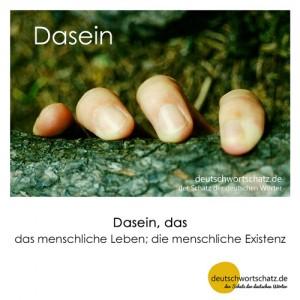 Dasein - Wortschatz Deutsch Bilder