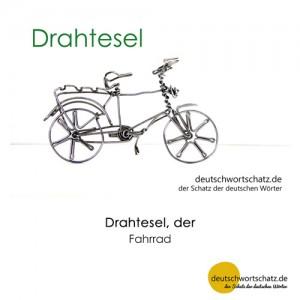 Drahtesel - Wortschatz Deutsch Bilder