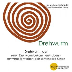 Drehwurm - Wortschatz Deutsch Bilder