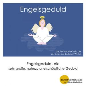 Engelsgeduld - Wortschatz Deutsch Bilder