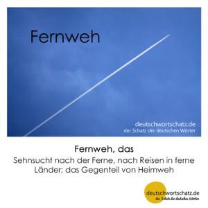 Fernweh - Wortschatz Deutsch Bilder