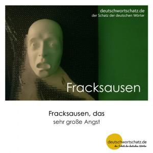 Fracksausen - Wortschatz Deutsch Bilder