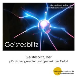 Geistesblitz - Wortschatz Deutsch Bilder