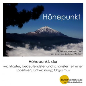 Höhepunkt - Wortschatz Deutsch Bilder