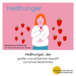 Heißhunger - Wortschatz Deutsch Bilder