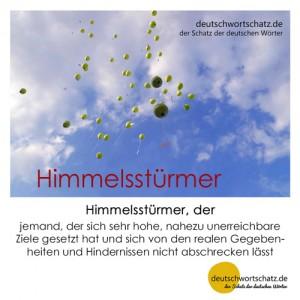 Himmelsstürmer - Wortschatz Deutsch Bilder
