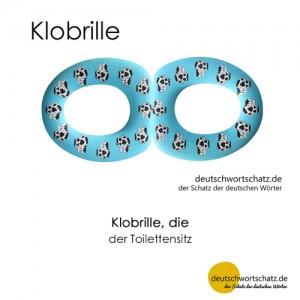 Klobrille - Wortschatz Deutsch Bilder