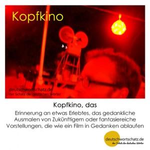 Kopfkino - Wortschatz Deutsch Bilder