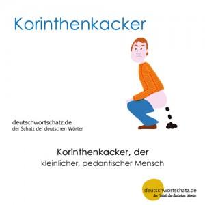 Korinthenkacker - Wortschatz Deutsch Bilder